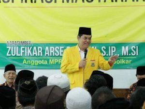 Anggota Komisi II DPR Fraksi Golkar Zulfikar Arse Sadikin