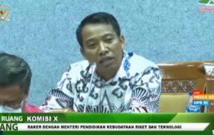 Anggota Komisi X DPR Fraksi Gerindra Elnino M Husein Mohi
